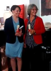 Patrizia Poli e Maria Flora Spagnuolo, le vincitrici della sezione over 35